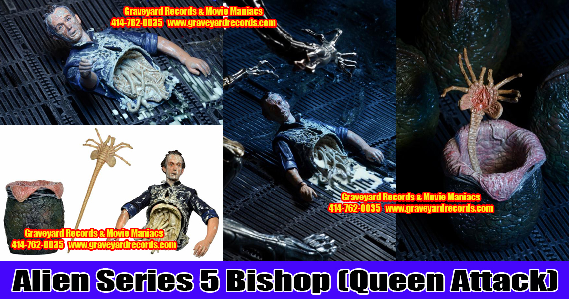 "8"" Aliens Series 5 Bishop (Queen Attack)"