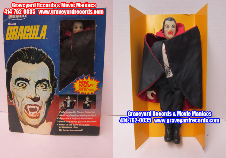 "8"" Remco Toys Dracula (1980)"