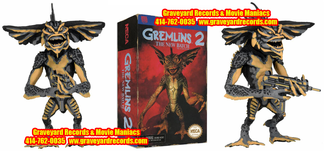 "8"" Gremlins Figure - Mohawk (Classic Video Game Appearance)"