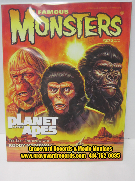 #275 Famous Monsters - Planet Of The Apes