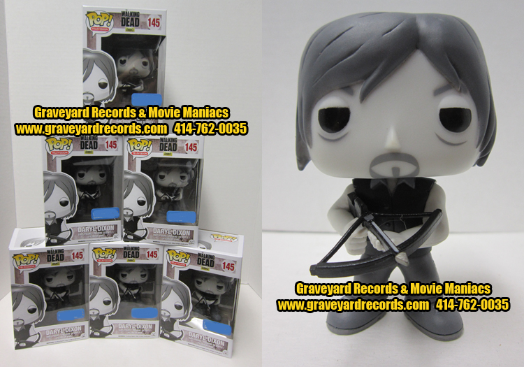 Daryl Dixon - Black & White Exclusive Figure