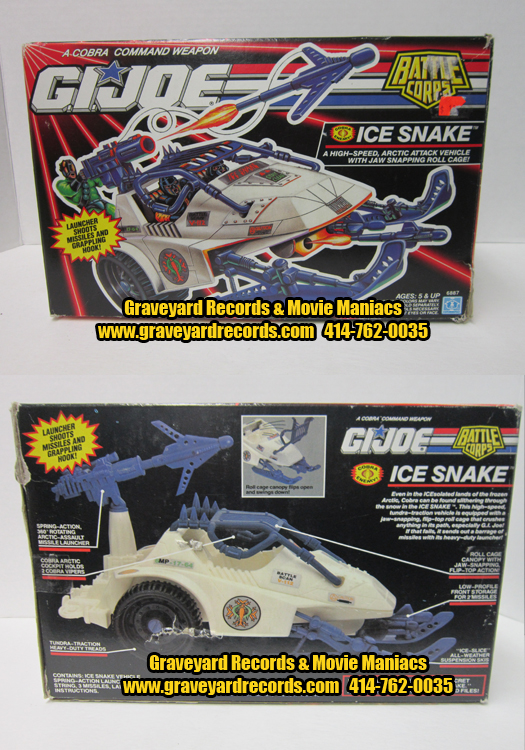 G.I. Joe Ice Snake ( Battle Corps )