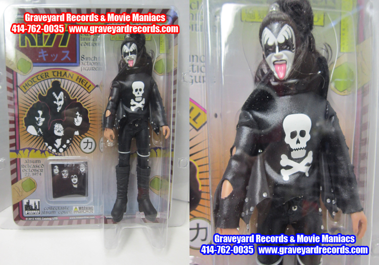 "8"" Kiss Retro Series 2 Gene Simmons Varient Mego Style Figure"