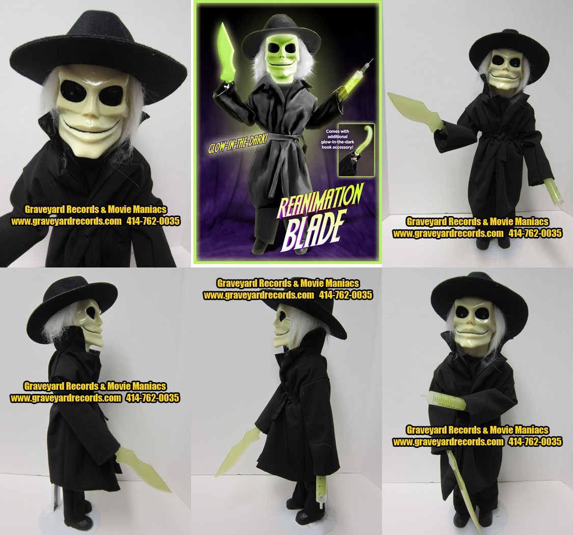 Limited Edition Puppet Master Replicas- Glow In The Dark Blade