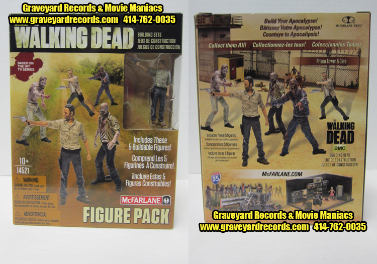 The Walking Dead Figure Pack - Expansion Pack 5 Figure Set