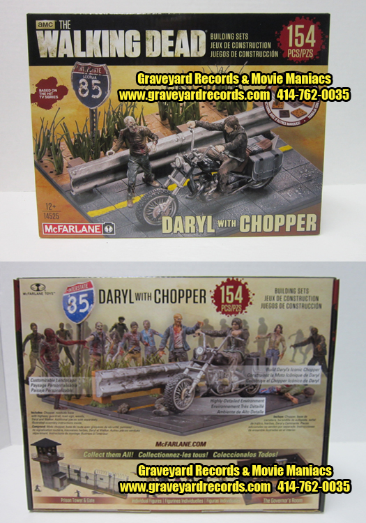 The Walking Dead Daryl Dixon with Chopper Set