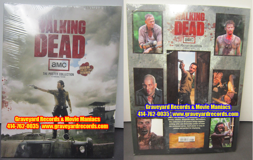 The Walking Dead Poster Book